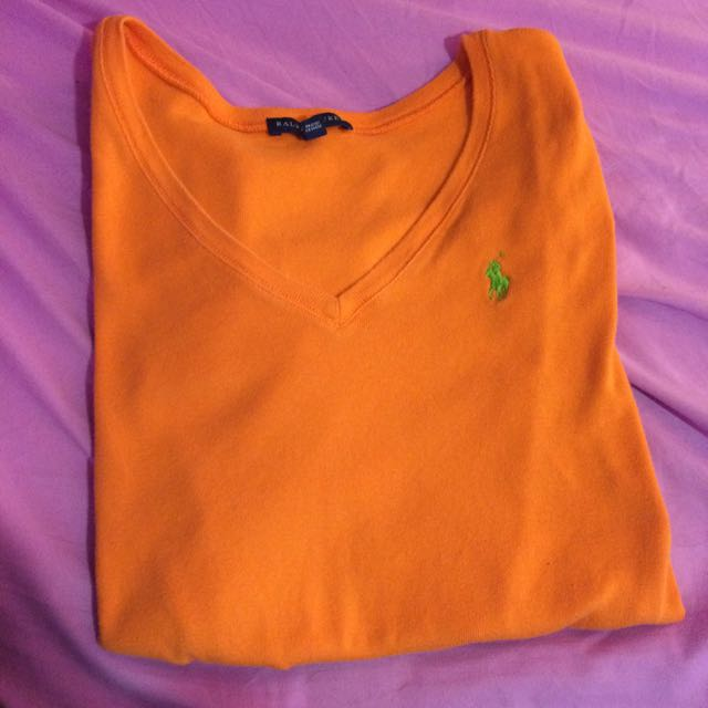 Polo V Neck T Shirt