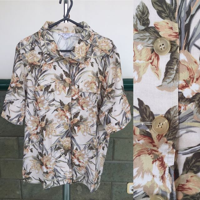 Preloved Tropical Top