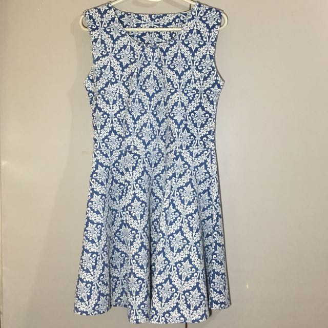 Printed Skater Dress