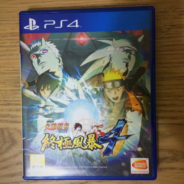PS4 火影忍者 終極風暴4 亞洲中文版
