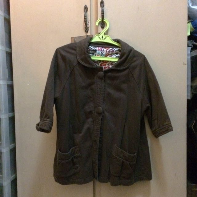 ROXY Brown Coat