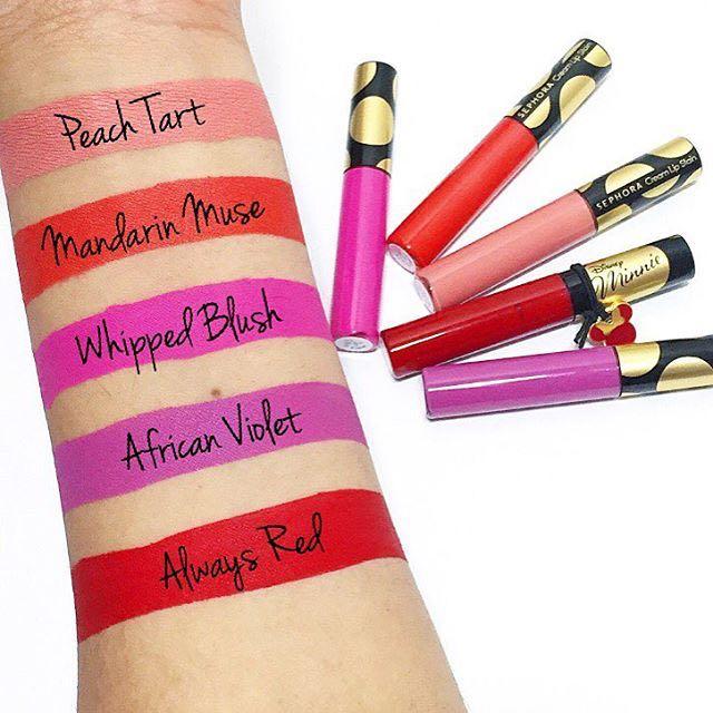 SEPHORA x Minnie Mouse- Liquid lipstick set. Brand new. Excellent kit. Limited edition