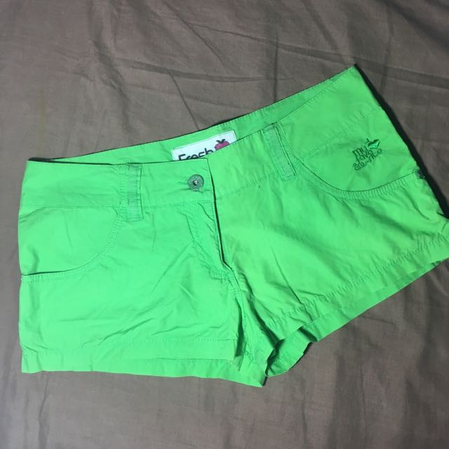 Sexy Neon Green Shorts