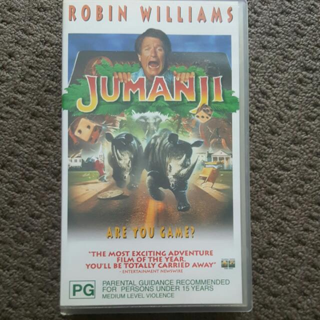 Unique Jumanji Video Tape