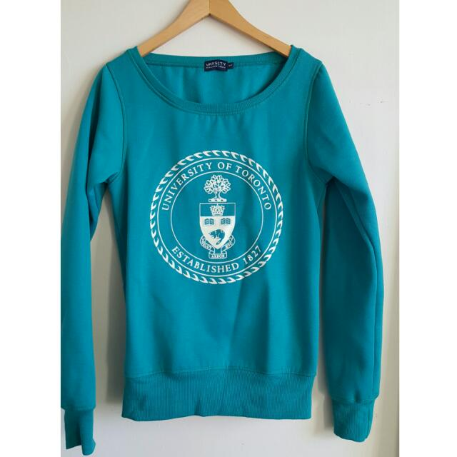 University Of Toronto Varsity Sweater