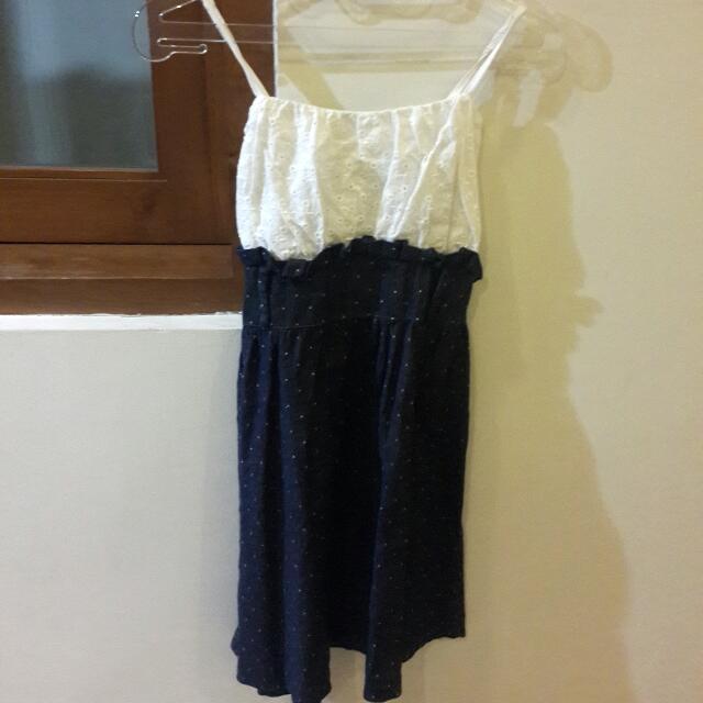 White-jeans Dress