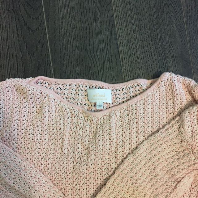 Wilfred High Low Knit Sweater