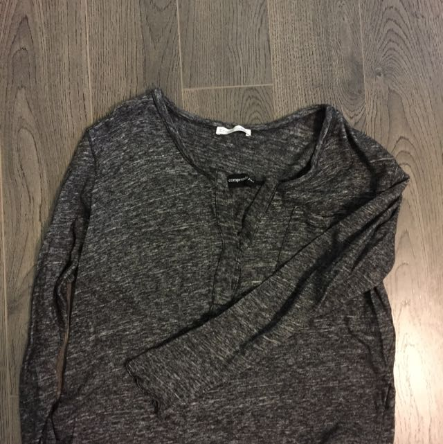 Zara Casual Cozy Top