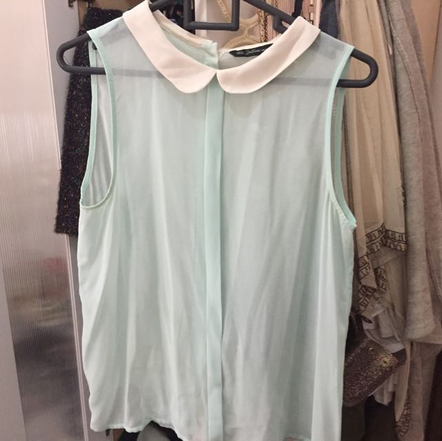 Zara Green Shirt Size M
