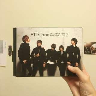 FTIsland Beautiful Hits For Asia Vol.2