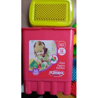 Playskool Clipo Figure Buckets