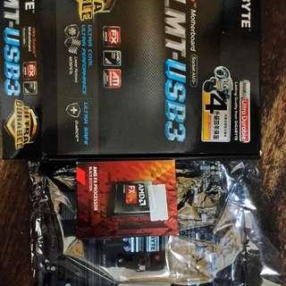 Amd CPU Fx6300 + 技嘉主機板78lmt-usb3