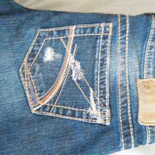 Guess And Silver Jeans, Not Rated Heels, LV Purse