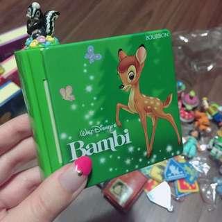 日本 絕版 玩具總動員 故事書盒 造型 小鹿斑比