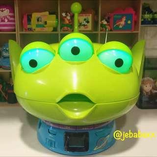 迪士尼 日本 絕版 三眼怪 CD播放器 收音機 玩具總動員 三眼