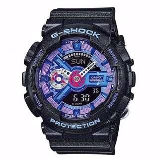 CASIO GSHOCK S-SERIES GMA-S110HC-1A