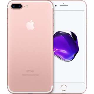 (SEALED) Apple Iphone 7+ Rose Gold 128Gb from Singtel