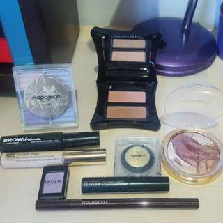 Napoleon, Illamasqua, Maybelline, Estee Lauder and Hourglass Barely Used Makeup