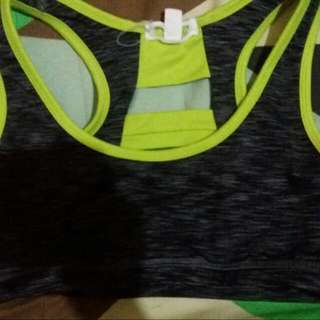 Active Wear Sports Bra 2 For 400 Medium Size  Slighlty Used