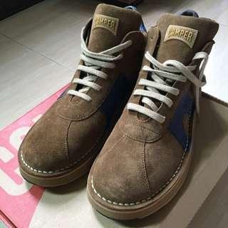 Camper 麂皮中高筒 休閒鞋