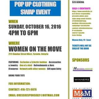Toronto Clothing Swap Event