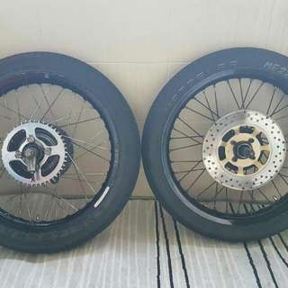 Takasago Excel Rim JAPAN Used On Rxz *RESERVED*