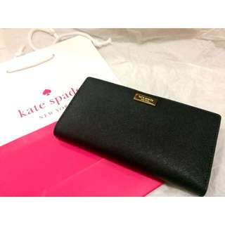 BNWT Kate Spade Saffiano Leather Wallet - Stacy Newbury Lane