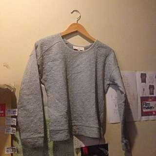 Grey Sweater/jumpsuit LOFT