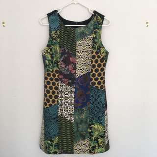 Patterned Desigual dress