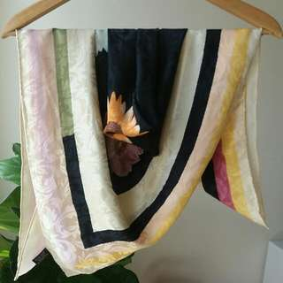 PRICE REDUCED Pure Silk Square Scarf