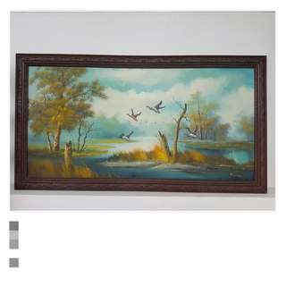 Painting Of Wild Geese By P Citirn