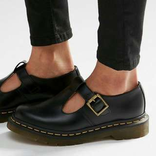 Dr.martens core polley t-bar flat shoes 馬汀