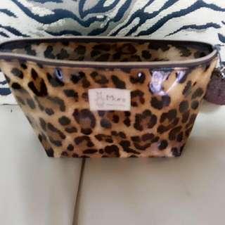 豹紋 化妝包