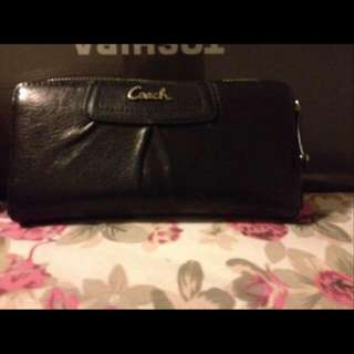 Authentic Leather Coach Wallet