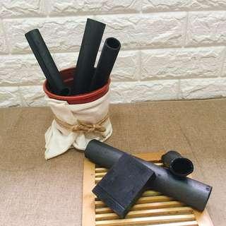竹炭去黑淨顏手工皂