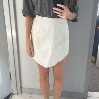 Australian Designer Leather Skirt