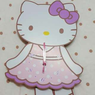 🚚 Hello Kitty 時鐘