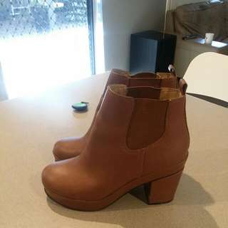 Genuine Leather Asos Boots