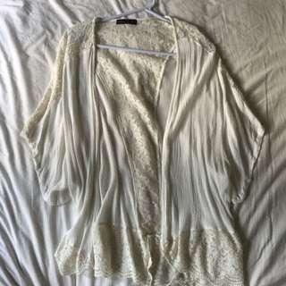 Lace Overshirt