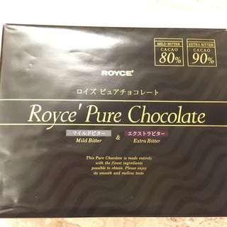北海道 Royce Pure Chocolate 黑巧克力