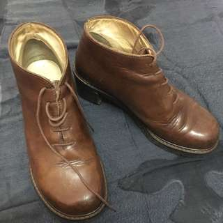 Collection privee Leather (made In Italy) Size 36.5