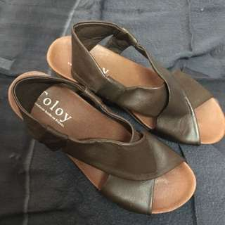 Tolony Heel Sandals Size 36