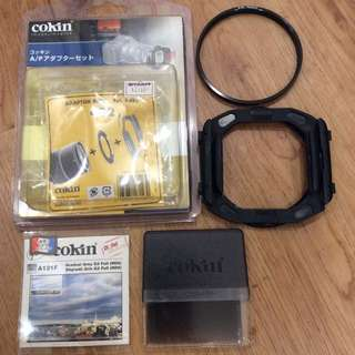 Cokin P-series holder with lens barrel ring & Cokin A121F ND8 filter