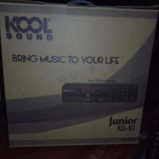 Kool Sound Videoke king Mini Version Free Platinum Microphone 12000 Songs..upgradable..