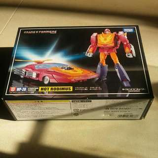 MP-28 Hot Rodimus (clear canopy) Transformers