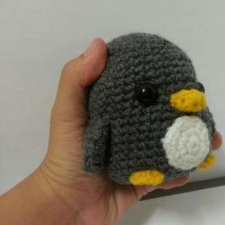 Crocheted Penguin Pal