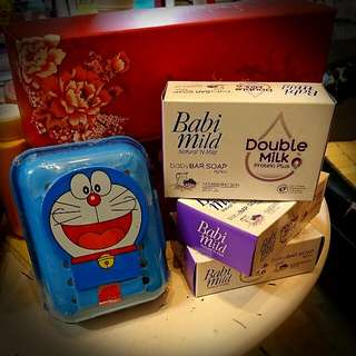 曼谷寶寶專用牛奶皂- 送小叮噹皂盒