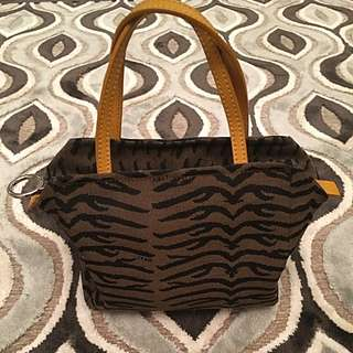 Fendi Animal Print Mini Purse