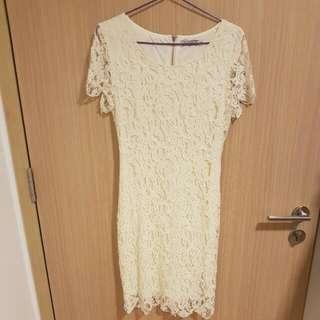Covet By Love Bonito - Beautiful White Lace Dress