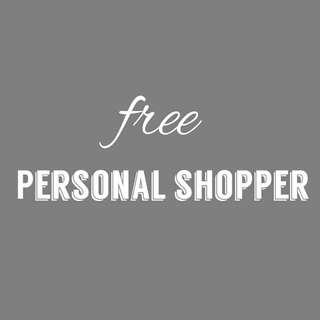Free Personal Shopper